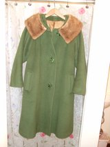 Vintage Coat with Fox Lining Large (used) in O'Fallon, Missouri