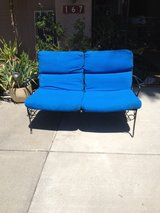 VINTAGE! SOLID Iron Settee and Armchair SET in Vacaville, California