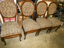 Victorian Dining Chairs in Travis AFB, California