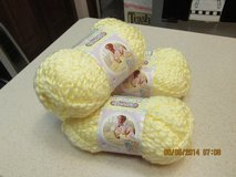 Baby's Soft Yellow Yarn By Bernat - Lot Of 3 Skeins in Kingwood, Texas