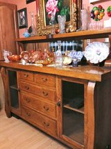 BEAUTIFUL DRY BAR SOLID WOOD CABINET From the 1800's in Naperville, Illinois