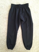 NWOT Black (XL) Youth Baseball Pants in Lockport, Illinois