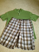Boys M-10 Shirt & Shorts in Plainfield, Illinois