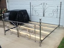 Wesley Allen Silver Iron King Bed in Fort Campbell, Kentucky