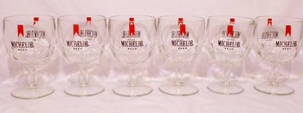 MUGS 6 Michelob Beer 1970 Style Glasses or Stemmed Mugs in Olympia, Washington