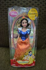 New in box Disney Snow White Barbie Doll in Plainfield, Illinois