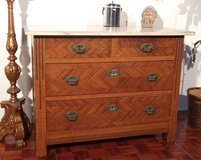 Antique Dresser with Nice Wood Inlays in Ramstein, Germany