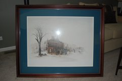 Large country print in Naperville, Illinois