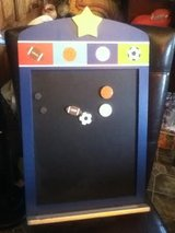 Football Magnetic Chalk Board in Fort Campbell, Kentucky
