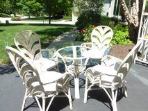 Rattan 6 piece Dining Set from House of Rattan in Naperville, Illinois