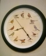 Medium Size clock with different bird sounds every hour in El Paso, Texas