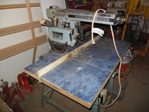 "DELTA MODEL 10"" RADIAL ARM SAW 120/240  VOLT new carbide blade, first $200 takes in Alamogordo, New Mexico"